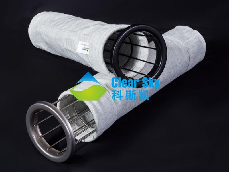 广州混纺防静电涤纶针刺毡滤袋/除尘布袋